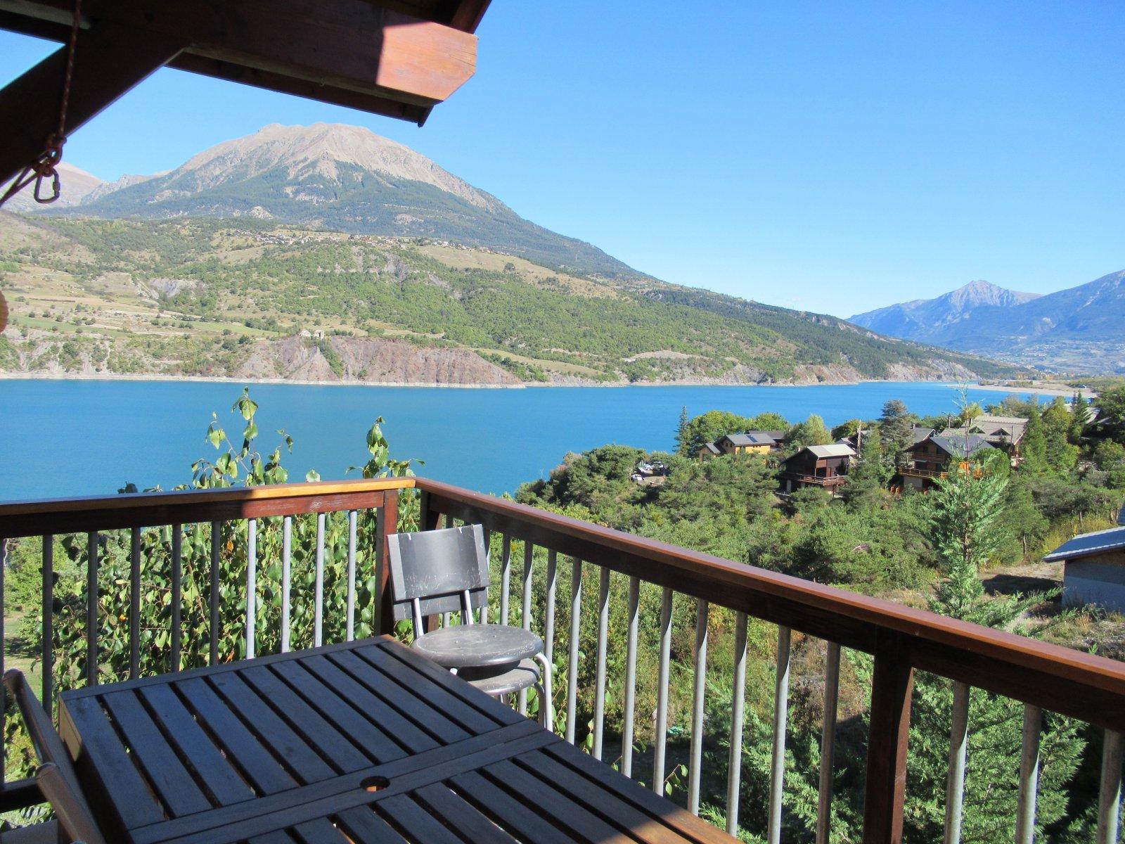 Lac Serre Poncon : Vente vaste t4 duplex vue lac de serre ponçon 178 000 euros otim